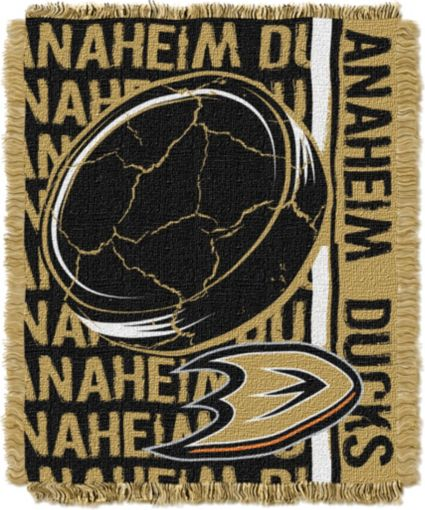 Northwest Anaheim Ducks Double Play 48 in x 60 in Jacquard Woven Throw Blanket