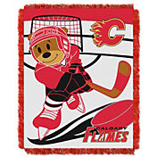 Northwest Calgary Flames Score Baby 36 in x 46 in Jacquard Woven Throw Blanket