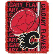 Northwest Calgary Flames Double Play 48 in x 60 in Jacquard Woven Throw Blanket