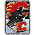 Northwest Calgary Flames 48 in x 60 in Home Ice Advantage Tapestry Throw Blanket