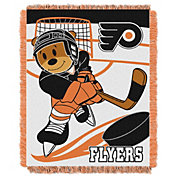 Northwest Philadelphia Flyers Score Baby 36 in x 46 in Jacquard Woven Throw Blanket