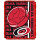 Northwest Carolina Hurricanes Double Play 48 in x 60 in Jacquard Woven Throw Blanket