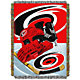 Northwest Carolina Hurricanes 48 in x 60 in Home Ice Advantage Tapestry Throw Blanket