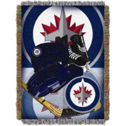 Northwest Winnipeg Jets 48 in x 60 in Home Ice Advantage Tapestry Throw Blanket