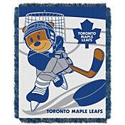 Northwest Toronto Maple Leafs Score Baby 36 in x 46 in Jacquard Woven Throw Blanket