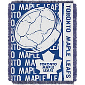 Northwest Toronto Maple Leafs Double Play 48 in x 60 in Jacquard Woven Throw Blanket