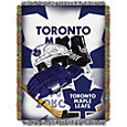 Northwest Toronto Maple Leafs 48 in x 60 in Home Ice Advantage Tapestry Throw Blanket