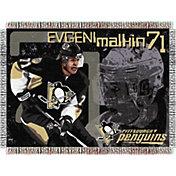 Northwest Pittsburgh Penguins Evgeni Malkin #71 Tapestry Throw Blanket
