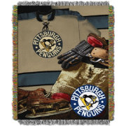 Northwest Pittsburgh Penguins Vintage 48 in x 60 in Tapestry Throw Blanket