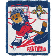 Northwest Florida Panthers Score Baby 36 in x 46 in Jacquard Woven Throw Blanket