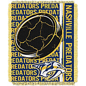 Northwest Nashville Predators Double Play 48 in x 60 in Jacquard Woven Throw Blanket