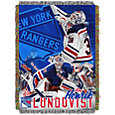 Northwest New York Rangers Henrik Lundqvist #30  Tapestry Throw 48 in x 60 in Blanket