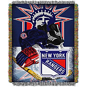Northwest New York Rangers Vintage 48 in x 60 in Tapestry Throw Blanket