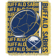 Northwest Buffalo Sabres Double Play 48 in x 60 in Jacquard Woven Throw Blanket