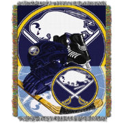 Northwest Buffalo Sabres Vintage 48 in x 60 in Tapestry Throw Blanket