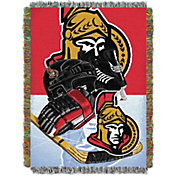 Northwest Ottawa Senators 48 in x 60 in Home Ice Advantage Tapestry Throw Blanket