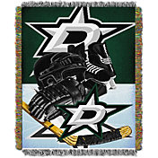 Northwest Dallas Stars 48 in x 60 in Home Ice Advantage Tapestry Throw Blanket