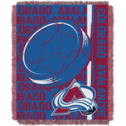 Northwest Colorado Avalanche Double Play 48 in x 60 in Jacquard Woven Throw Blanket