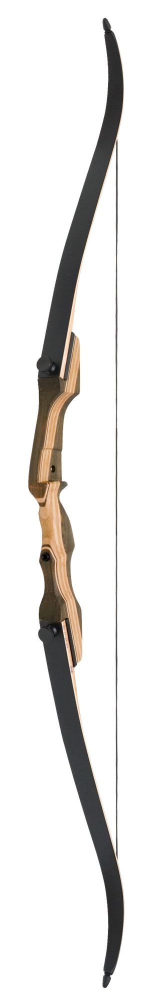 """OMP Smoky Mountain Hunter Recurve Bow – 62"""", Right Hand, maple"""