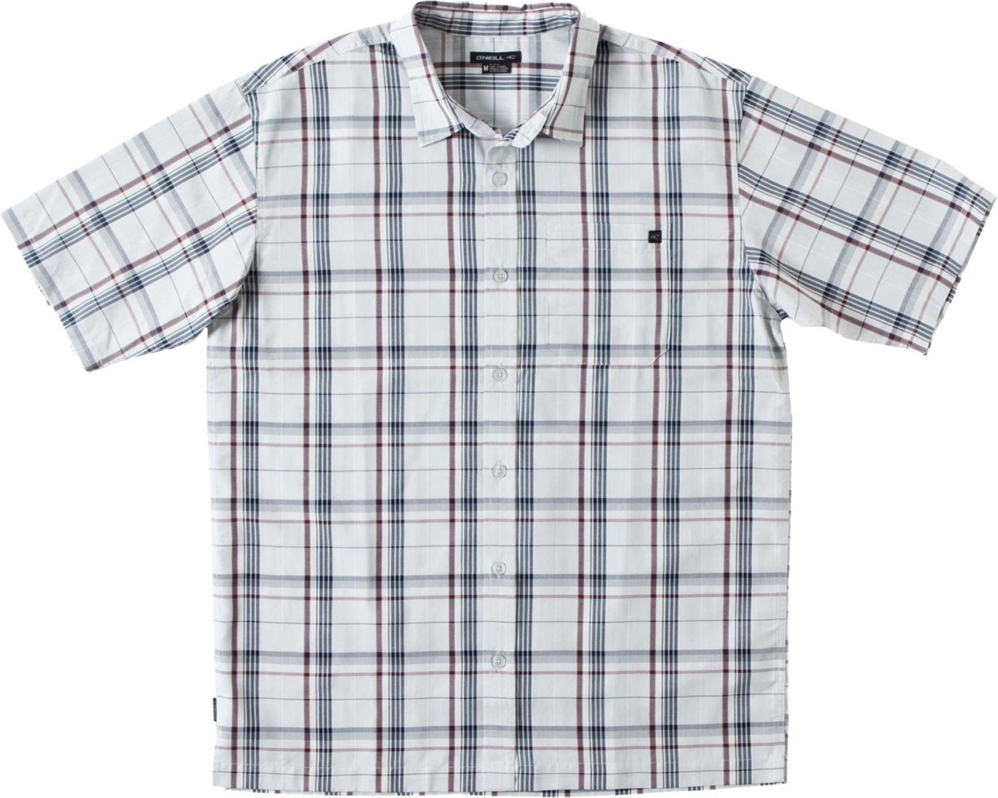 O'Neill Men's Isla Button Up Short Sleeve Shirt