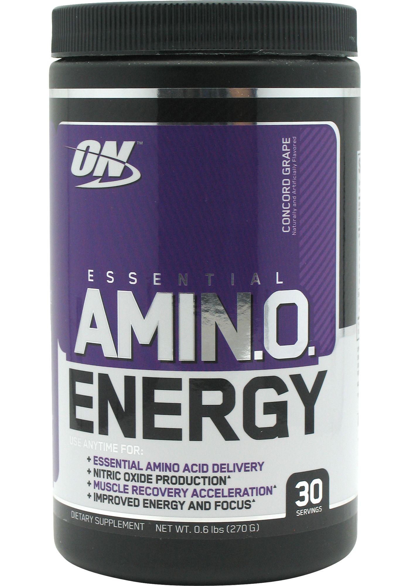 Optimum Nutrition Essential Amino Energy Grape 30 Servings