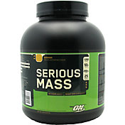Optimum Nutrition Serious Mass Protein Powder Banana 6 lbs