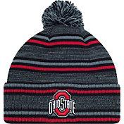 OSU Men's Ohio State Buckeyes Gray Dark Invader Knit Beanie