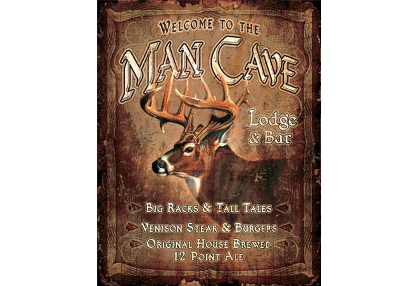 Ohio Wholesale Man Cave Tin Sign