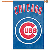 Party Animal Chicago Cubs Applique Banner Flag