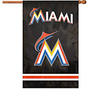 Party Animal Miami Marlins Applique Banner Flag