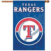 Party Animal Texas Rangers Applique Banner Flag