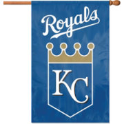 Party Animal Kansas City Royals Applique Banner Flag