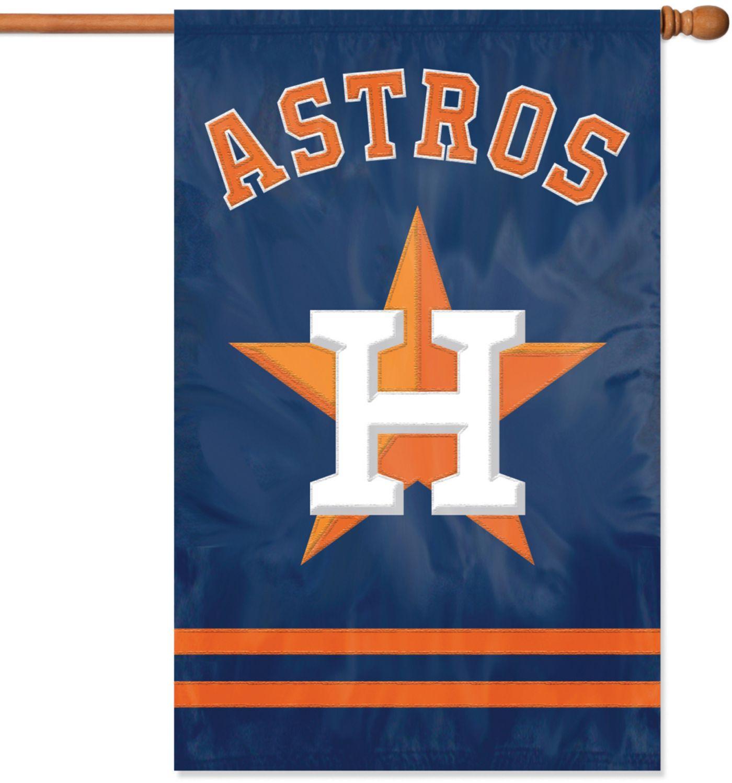 The Party Animal Houston Astros Applique Banner Flag