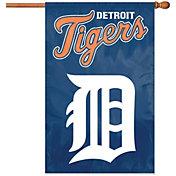 Party Animal Detroit Tigers Applique Banner Flag