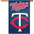 Party Animal Minnesota Twins Applique Banner Flag