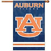 Party Animal Auburn Tigers Applique Banner Flag