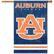 Party Animal Auburn Tigers Applique Banner Flag