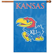 Party Animal Kansas Jayhawks Applique Banner Flag