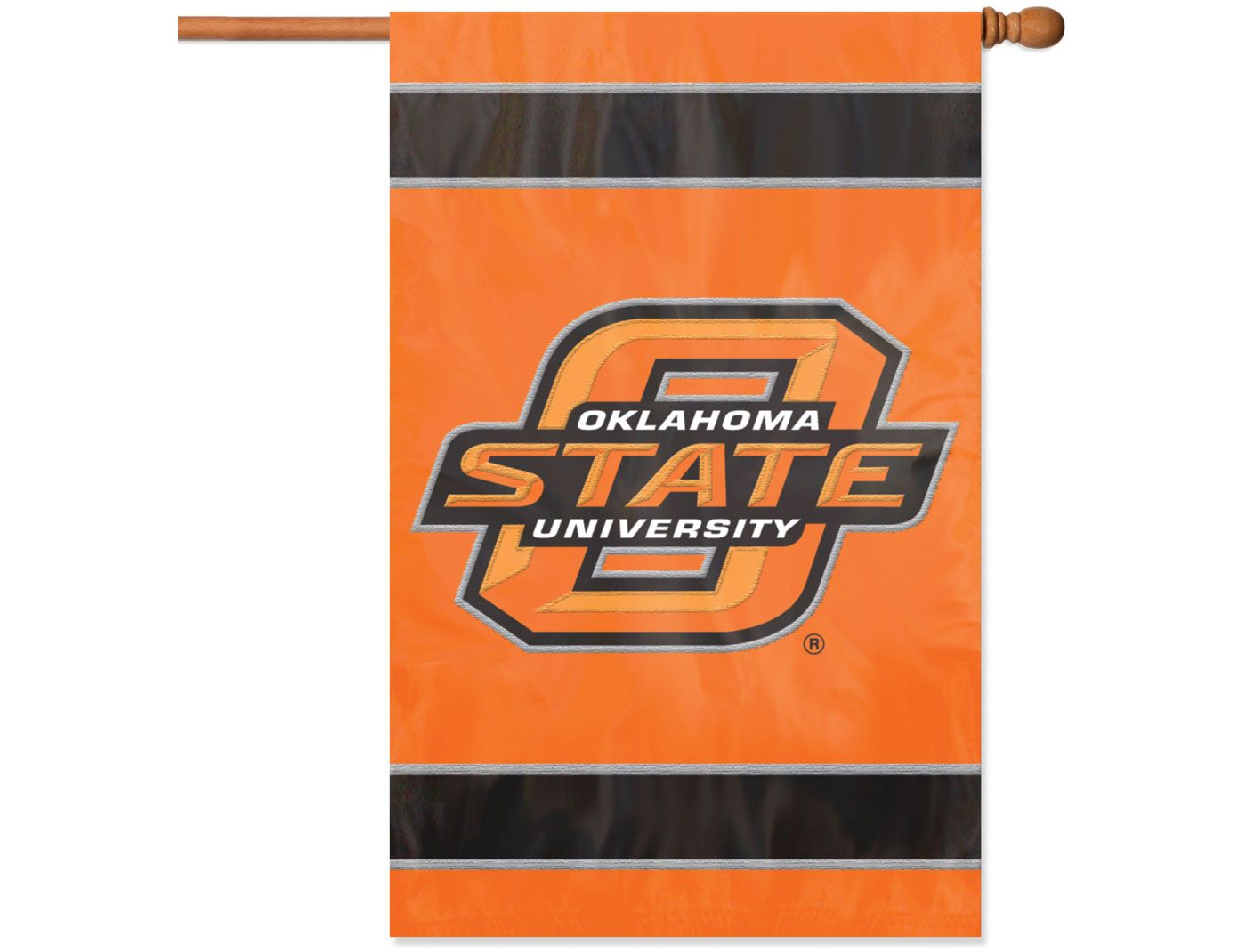 Party Animal Oklahoma State Cowboys Applique Banner Flag