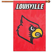 Party Animal Louisville Cardinals Applique Banner Flag