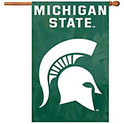 Party Animal Michigan State Spartans Applique Banner Flag