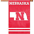 Party Animal Nebraska Cornhuskers Applique Banner Flag