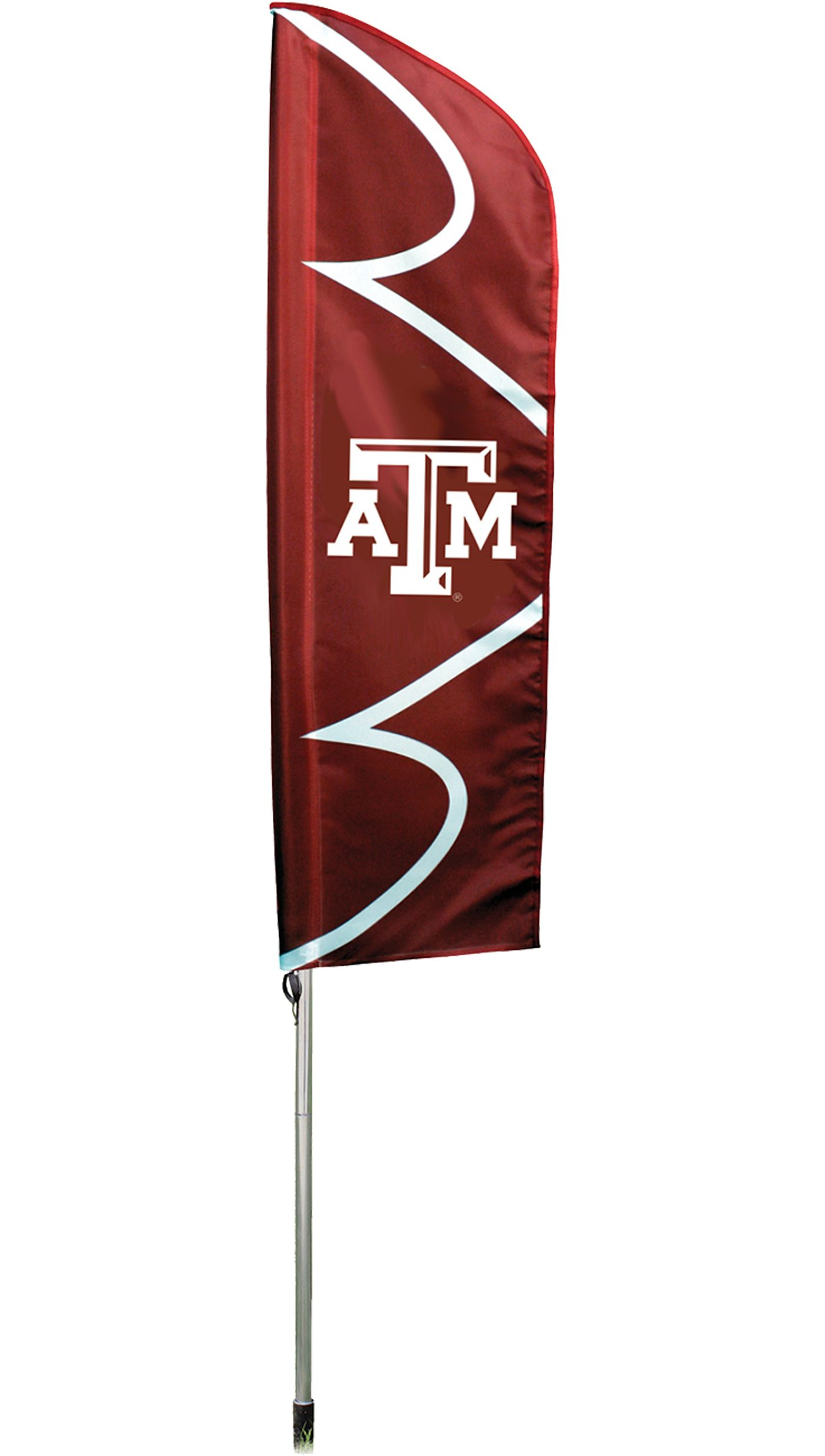 Party Animal Texas A&M Aggies Swooper Flag with Pole