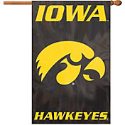 Party Animal Iowa Hawkeyes Applique Banner Flag