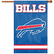 Party Animal Buffalo Bills Applique Banner Flag
