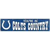 """Party Animal Indianapolis Colts """"Colts Country"""" Giant 8' x 2' Banner"""