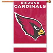 Party Animal Arizona Cardinals Applique Banner Flag