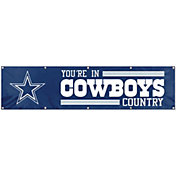 Party Animal Dallas Cowboys Giant 8' x 2' Banner