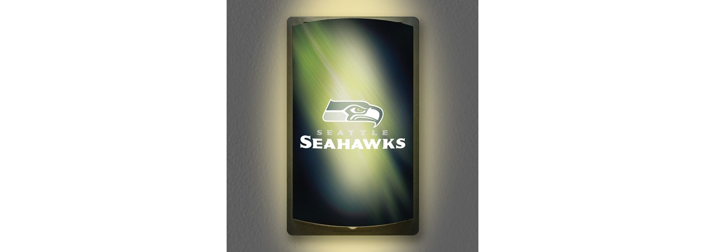 Party Animal Seattle Seahawks MotiGlow Light Up Sign