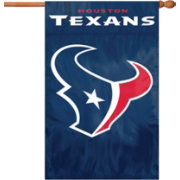 Party Animal Houston Texans Garden/Window Flag